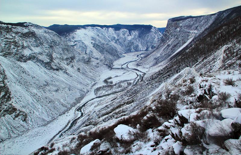 Кату-Ярык зимой